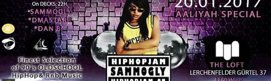 Hiphopjam Aaliyah Special 20.1.17 am 20.01.2017 @ The Loft