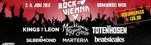 Rock In Vienna 2017 - Official am 02.06.2017 @ Donauinsel