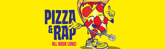 Pizza & Rap Party - Hip Hop, RnB & Free Pizza! am 24.03.2017 @ Wien