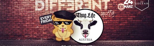 Thug Life Austria meets Different am 24.03.2017 @ The Legend