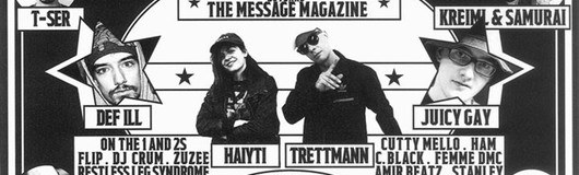 20 Years The Message Magazine am 10.06.2017 @ Grelle Forelle