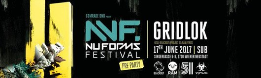 NU FORMS Pre Party w/ Gridlok (USA) am 17.06.2017 @ SUB