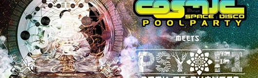 COSMIC Poolparty – Psy-Fi Festival Special mit Avalon am 10.06.2017 @ Pratersauna