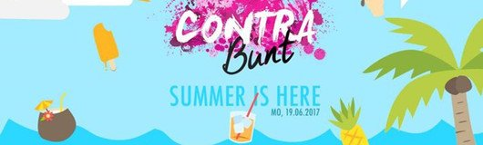 contra.bunt | summer is here am 19.06.2017 @ U4