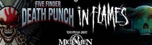 Five Finger Death Punch + In Flames, Of Mice & Men | Vienna am 08.12.2017 @ Stadthalle Wien
