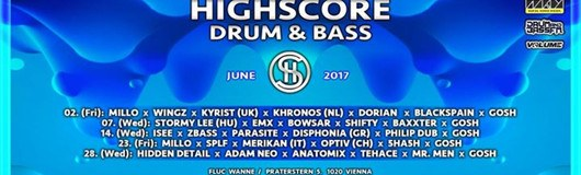Highscore x Drum&Bass am 28.06.2017 @ Fluc Wanne