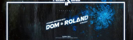 Push 4 presents: Dom & Roland (DRP / Metalheadz / Moving Shadow) am 17.06.2017 @ Das Werk