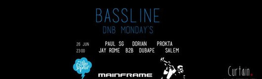 26 Jun - Bassline DnB Mondays - Curtain Club am 26.06.2017 @ Curtain