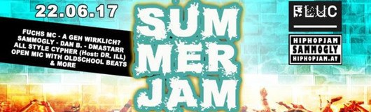 Summer JAM by Sammogly am 22.06.2017 @ Fluc