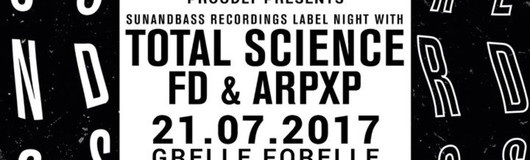 CONTRAST presents Sunandbass Recordings Label Night am 21.07.2017 @ Grelle Forelle