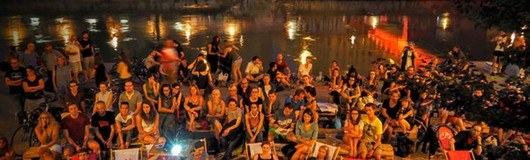 Gratis Open Air Kino am Donaukanal mit dem Cycle Cinema Club am 17.08.2017 @ Donaukanal