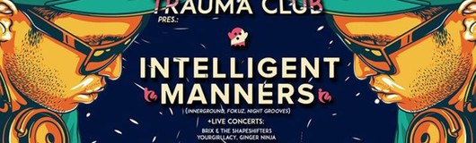 Trauma Club Special feat. Intelligent Manners am 18.08.2017 @ Fluc Wanne