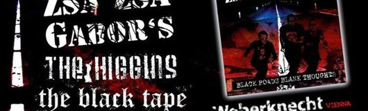 Early punk show:★Zsa Zsa Gabor's ★Higgins ★Degradace ★Black Tape am 09.12.2017 @ Weberknecht