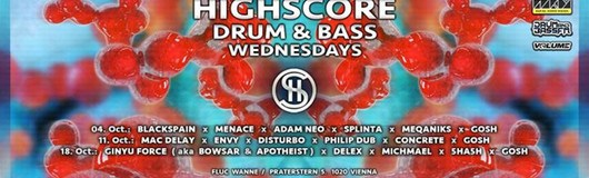 Highscore x Drum&Bass am 11.10.2017 @ Fluc Wanne