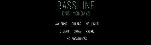 16 Oct. - Bassline Mondays (FREE Entrance) am 16.10.2017 @ Curtain
