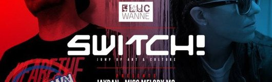 Switch! presents Jaydan & Miss Melody MC am 10.11.2017 @ Fluc Wanne