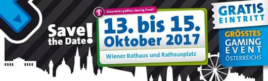 Game City 2017 am 13.10.2017 @ Rathaus