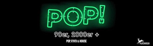 POP!  am 16.11.2017 @ Platzhirsch