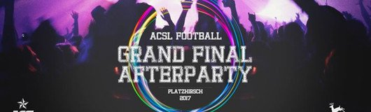 ACSL Football - Final Afterparty 2017 am 11.11.2017 @ Platzhirsch