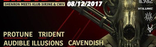Shutdown#23 - Shenron meets Klub Sir3ne & CWV am 08.12.2017 @ Flex