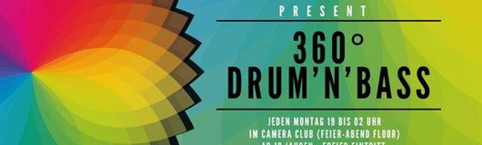 360° Drum'n'Bass am 04.09.2017 @ Camera Club