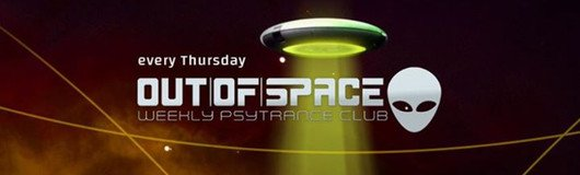 OUT of SPACE Psytrance Club am 22.02.2018 @ Weberknecht