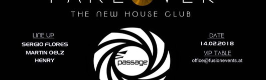 ★ Takeover ★ 100% House ★ Valentines Special  am 14.02.2018 @ Passage