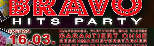 BRAVO Hits Party at Weberknecht / 16.03.2018 am 16.03.2018 @ Weberknecht