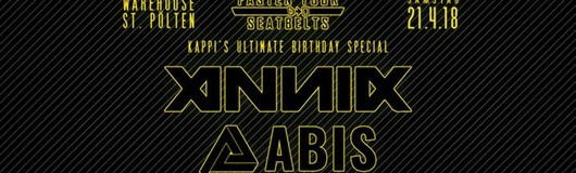 Fasten Your Seatbelts w/ Annix & Abis am 21.04.2018 @ Warehouse