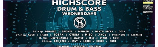 Highscore x Drum&Bass am 23.05.2018 @ Fluc + Fluc Wanne