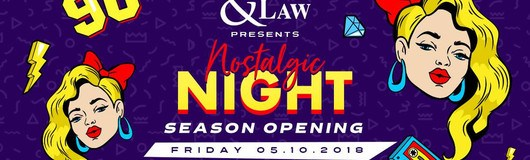 Med & Law pres. Nostalgic Night I Season Opening am 12.10.2018 @ Passage