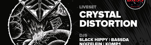 Bass_a_Tek presents > Crystal Distortion < am 13.10.2018 @ Fluc + Fluc Wanne