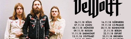 DeWolff, The Dawn Brothers // Wien am 14.11.2018 @ Chelsea