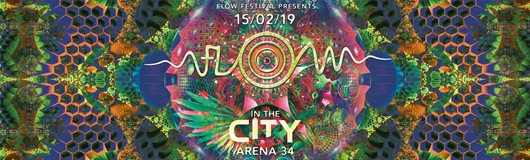 FLOW in the City mit Egorythmia & E-Clip at Arena 34 am 15.02.2019 @ Arena 34