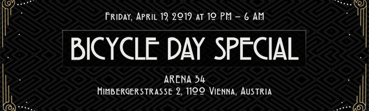 Masters Of Puppets Bicycle Day with Dark Whisper / Orestis /QX3 am 19.04.2019 @ Arena 34
