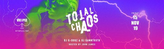 Total Chaos HipHop | Enter the CHAOS am 22.11.2019 @ VIE I PEE