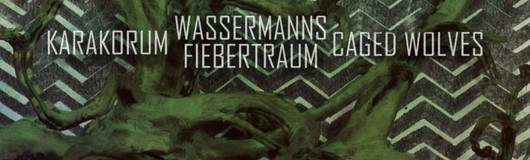 Karakorum / Wassermanns Fiebertraum / Caged Wolves am 07.12.2019 @ Weberknecht