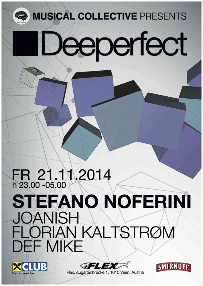 DEEPERFECT am 21.11.2014 @ Flex