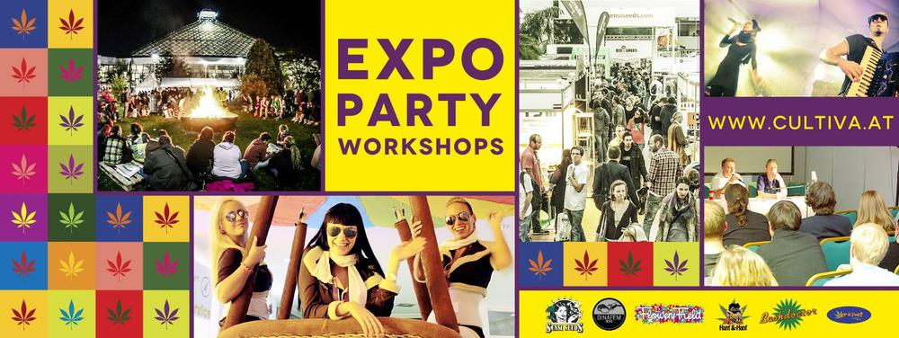 CULTIVA INT. HEMP EXPO am 18.10.2014 @ Pyramide