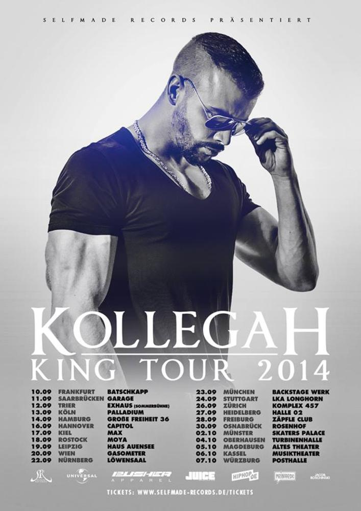 "KOLLEGAH ""King Tour"" 2014 am 20.09.2014 @ Gasometer - Planet"