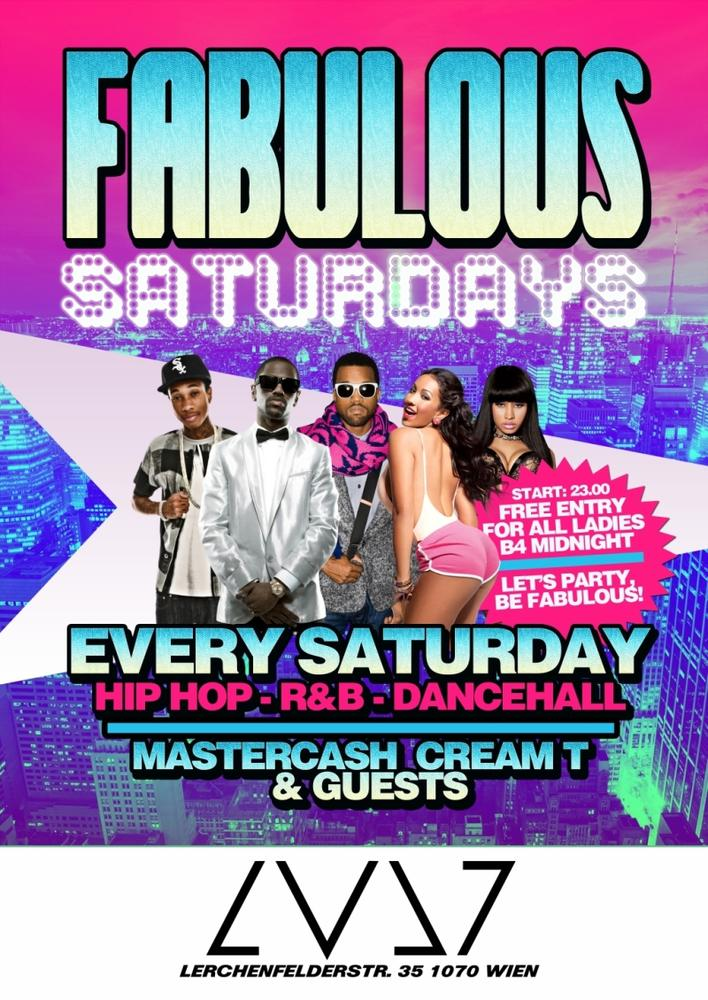 FABULOUS SATURDAYS am 08.09.2012 @ CityClub Vienna