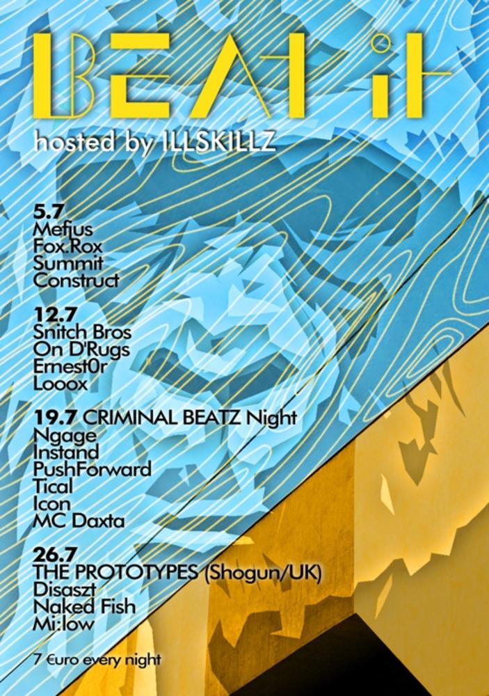 Beat It am 26.07.2012 @ Flex