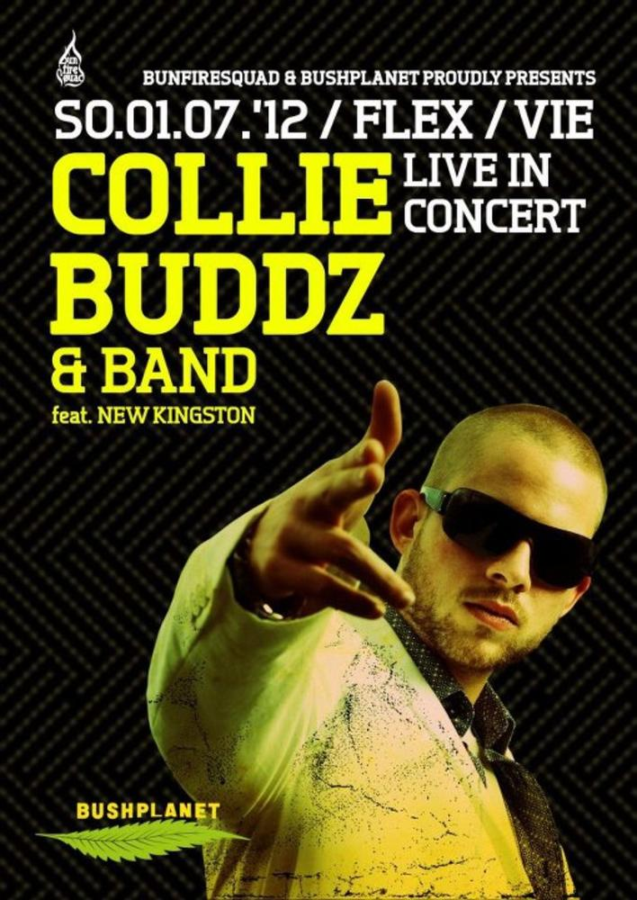 COLLIE.BUDDZ - feat. NEW KINGSTON am 01.07.2012 @ Flex