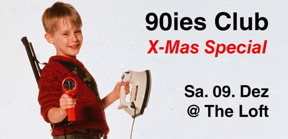 90ies Club: X-Mas Special! am 09.12.2017 @ The Loft