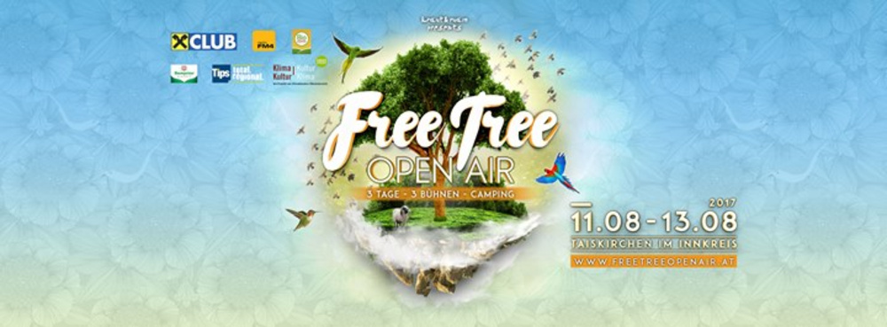 Free Tree Open Air 2017 am 11.08.2017 @ Taiskirchen im Innkreis