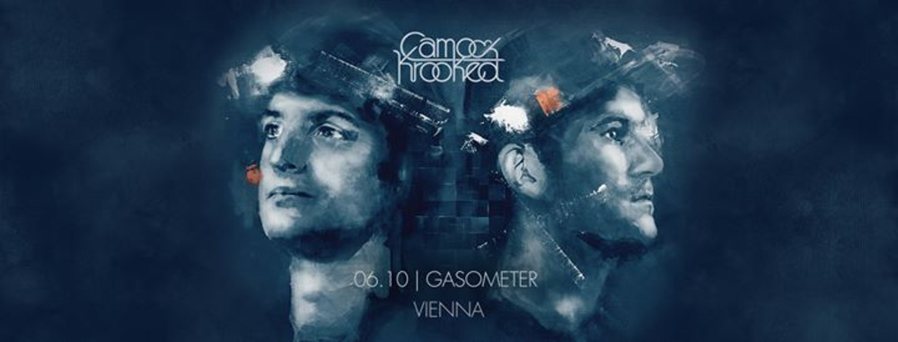 Camo & Krooked - Mosaik Tour - Vienna am 06.10.2017 @ Gasometer - Planet