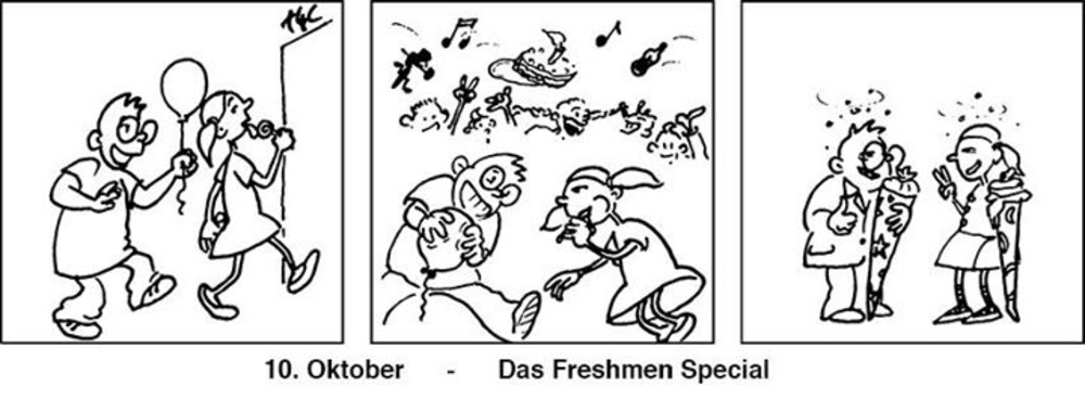 Tuesday4Club - Freshmen Special am 10.10.2017 @ U4
