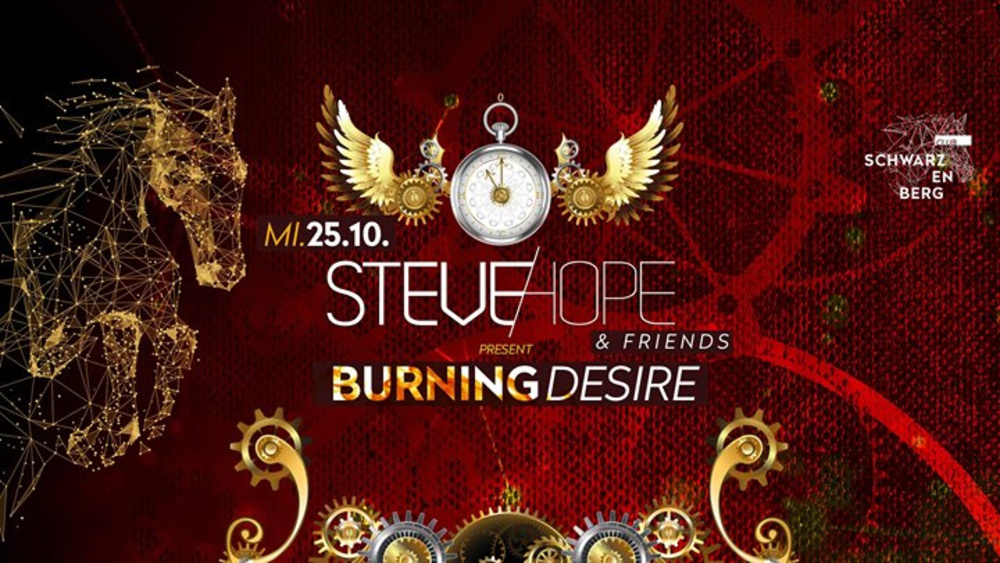 Steve Hope & Friends - Burning Desire - 25.10. am 25.10.2017 @ Club Schwarzenberg