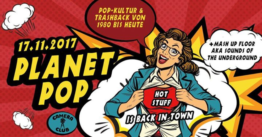 Planet Pop am 17.11.2017 @ Camera Club