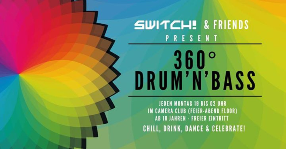 360° Drum'n'Bass am 13.11.2017 @ Camera Club